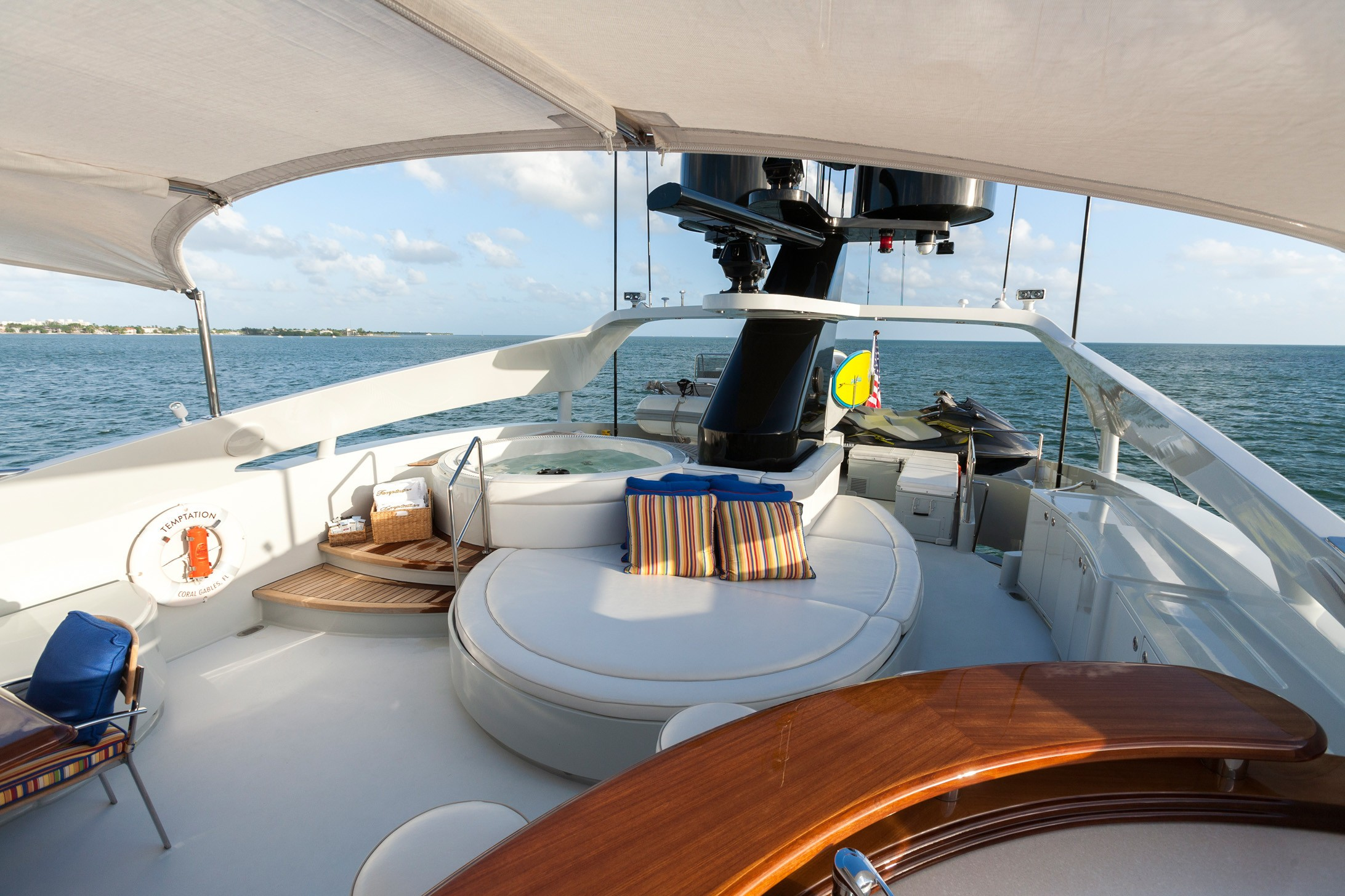 Life On Board Yacht TEMPTATION