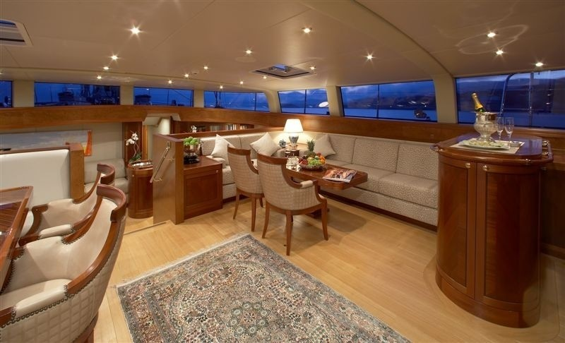 Top Saloon On Yacht CINDERELLA IV