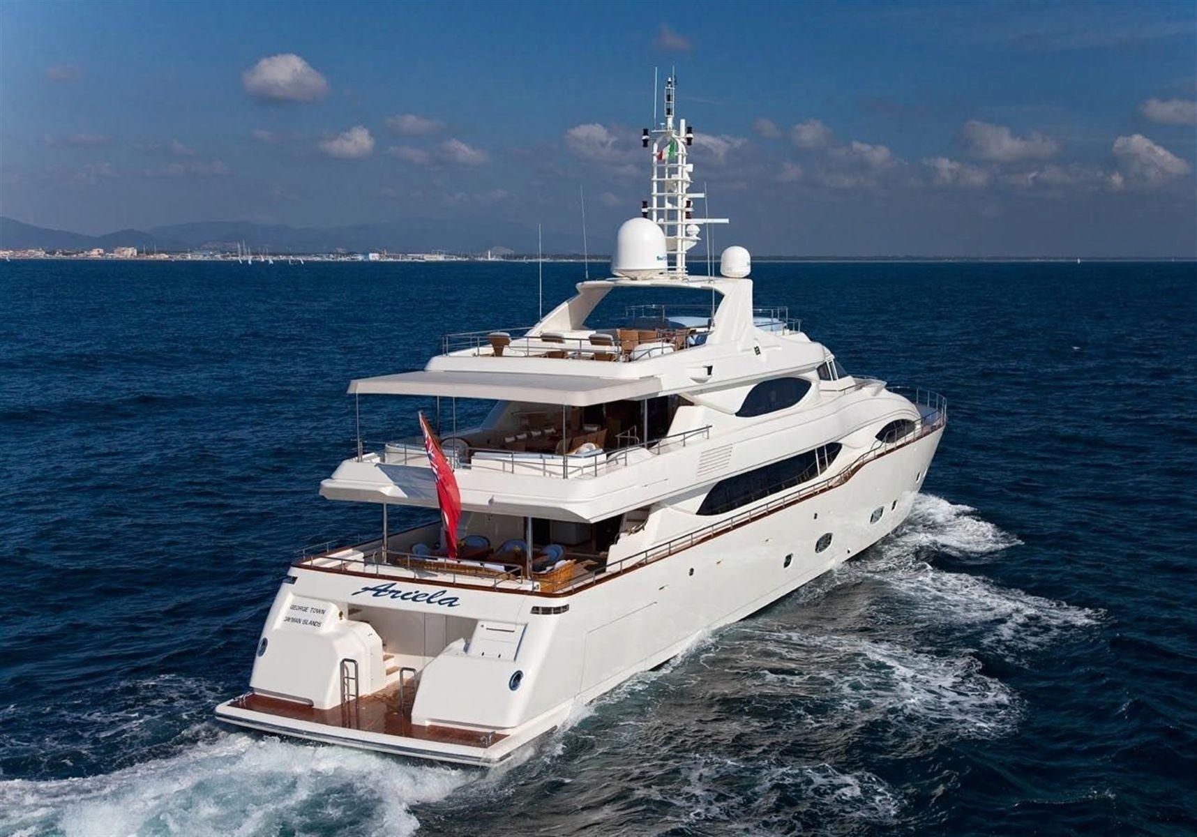 The 40m Yacht ARIELA