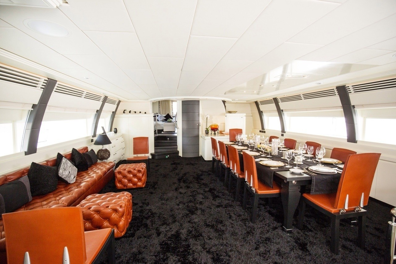 The 40m Yacht SAMJA
