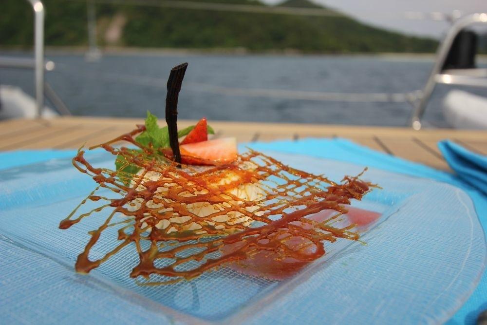 Gastronomy Aboard Yacht DOUCE FRANCE