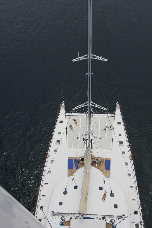 Mast Including A Aspect Aboard Yacht DOUCE FRANCE