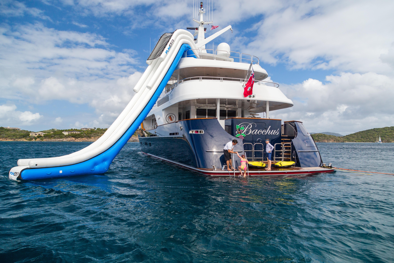 The 43m Yacht BACCHUS