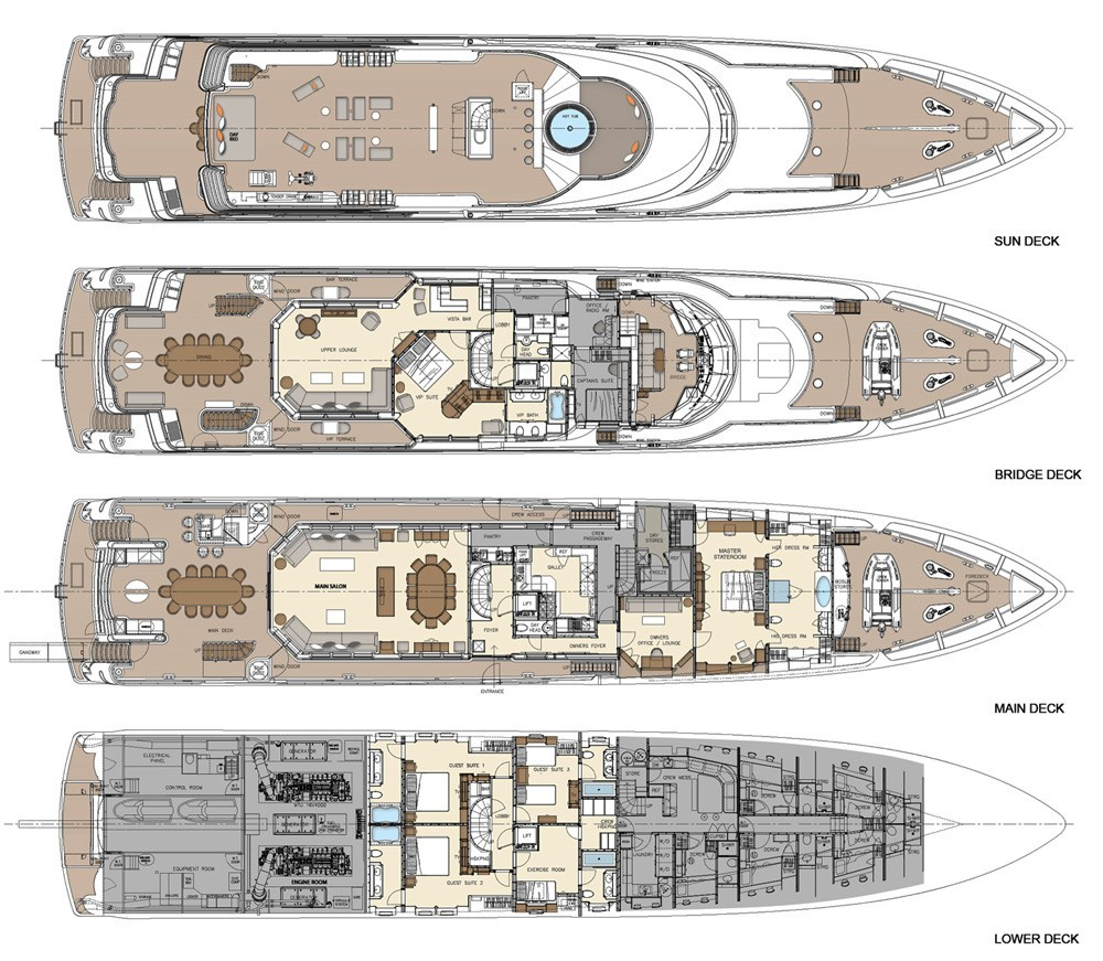 The 49m Yacht AQUAVITA