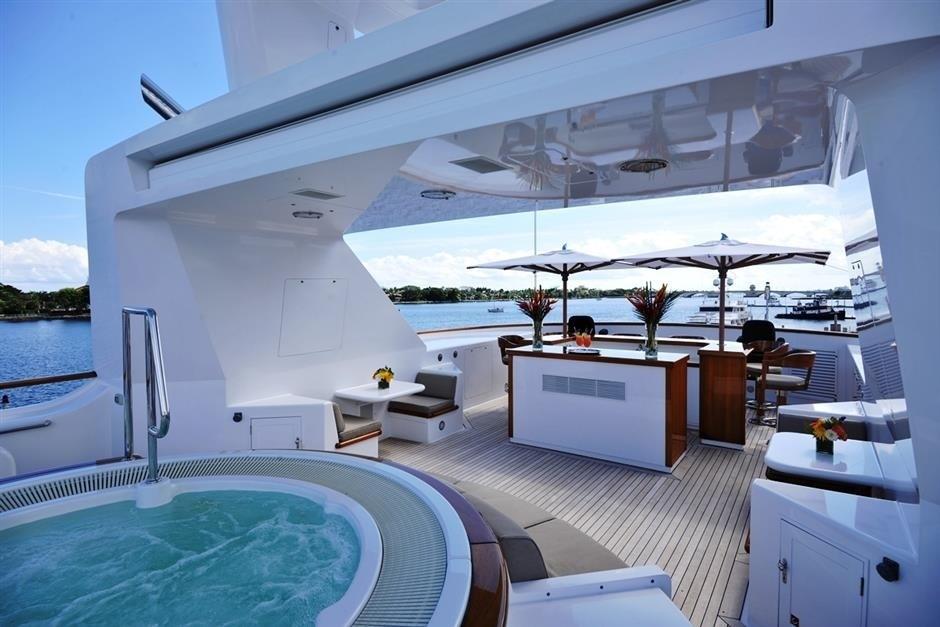 Life On Board Yacht MARIA