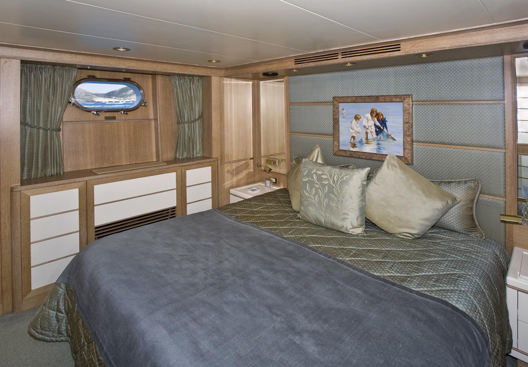 Blue Guest's Cabin On Board Yacht TE MANU
