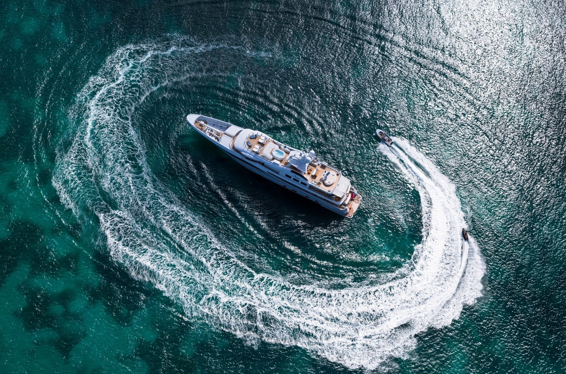 The 55m Yacht ASTRA