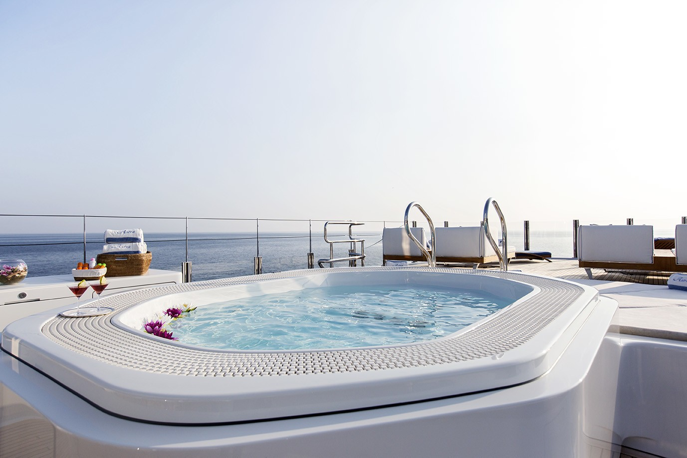 Life On Board Yacht ASTRA