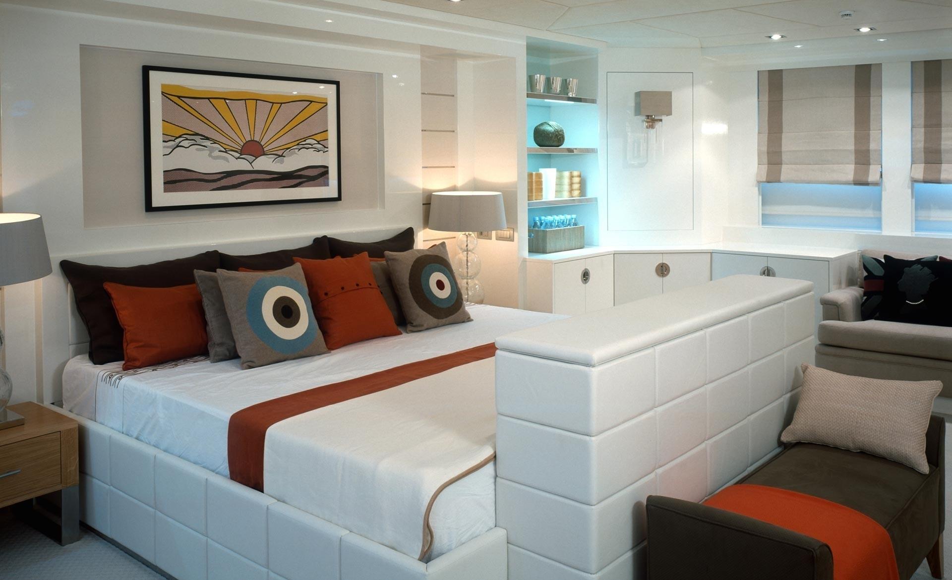 Main Master Cabin Aboard Yacht ILLUSION
