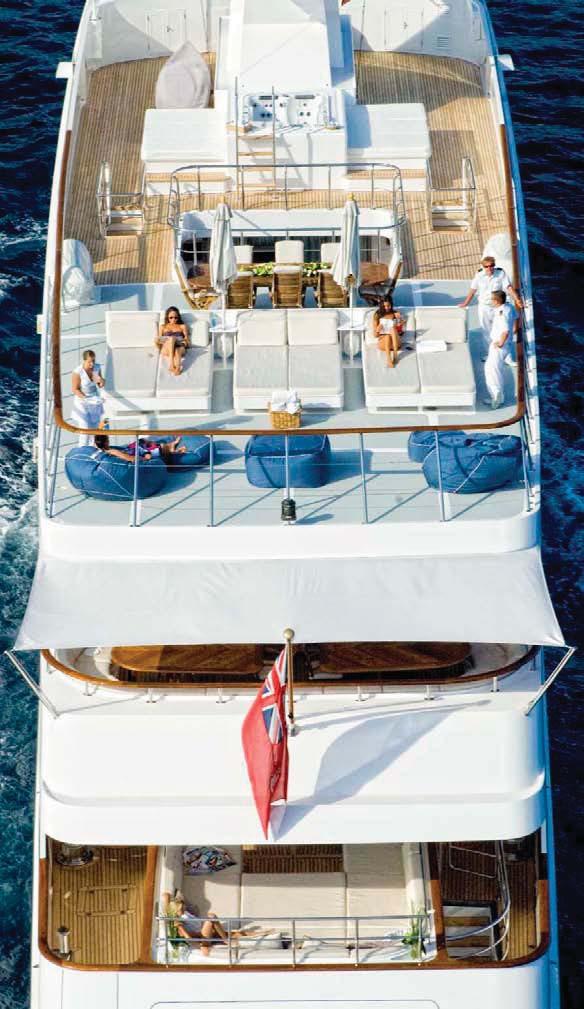 The 55m Yacht ILLUSION