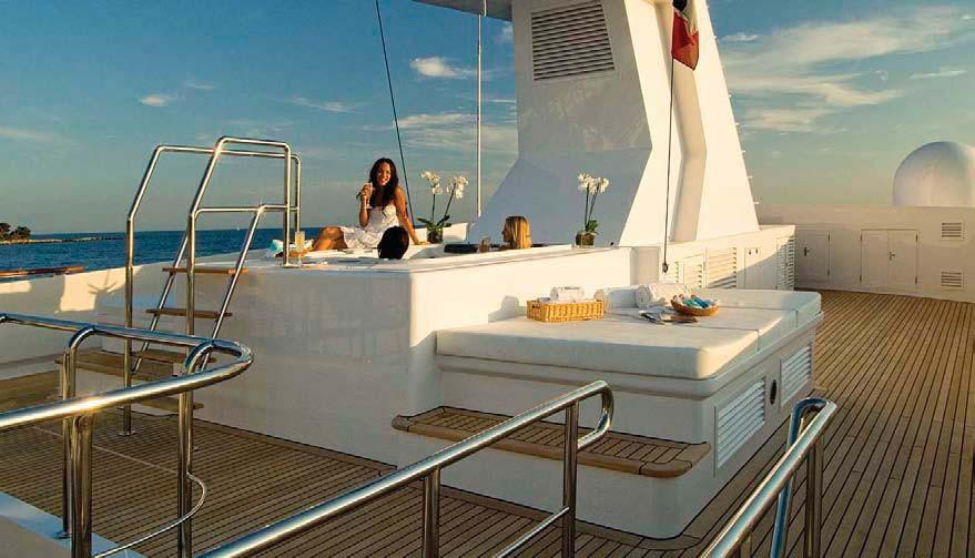 Life On Board Yacht ILLUSION