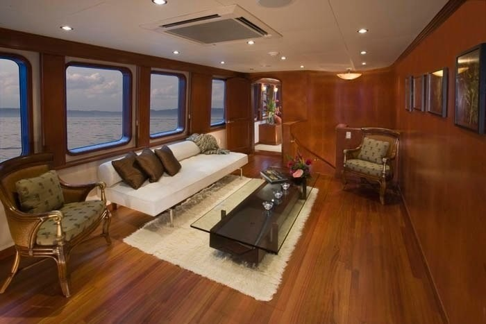 Main Master Saloon On Yacht STARGAZER