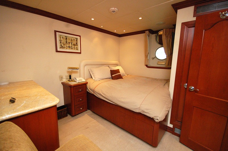 Guest's Cabin On Yacht STARGAZER