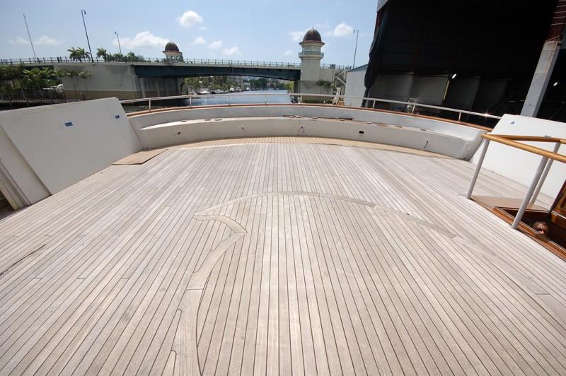 Sun Deck Aboard Yacht STARGAZER