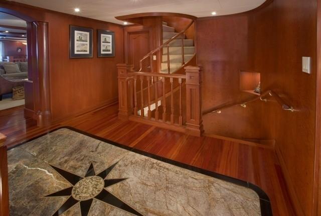 Staircase On Yacht STARGAZER