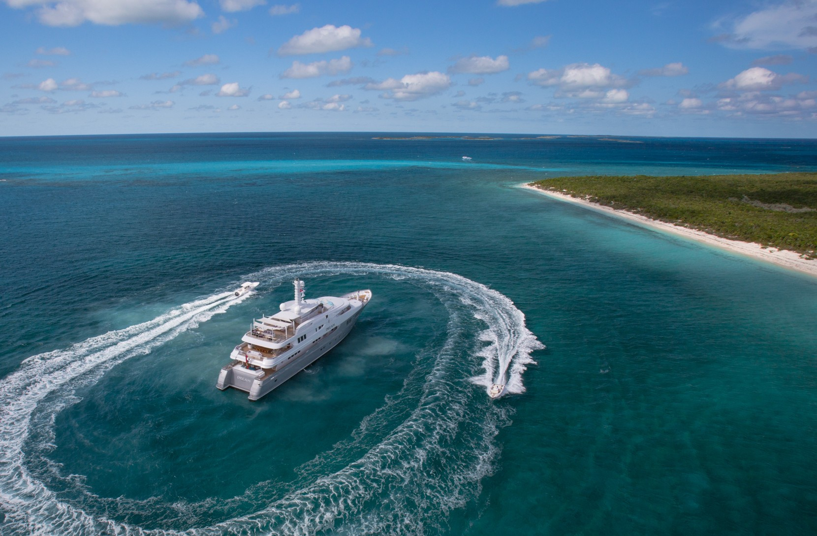 Yacht DREAM by Abeking & Rasmussen - Tender in the Caribbean