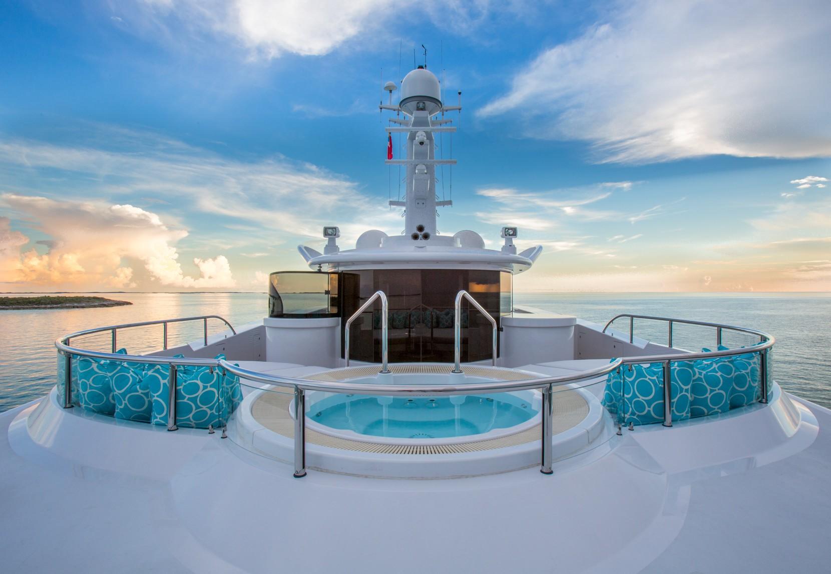 The 57m Yacht DREAM - Jacuzzi Deck