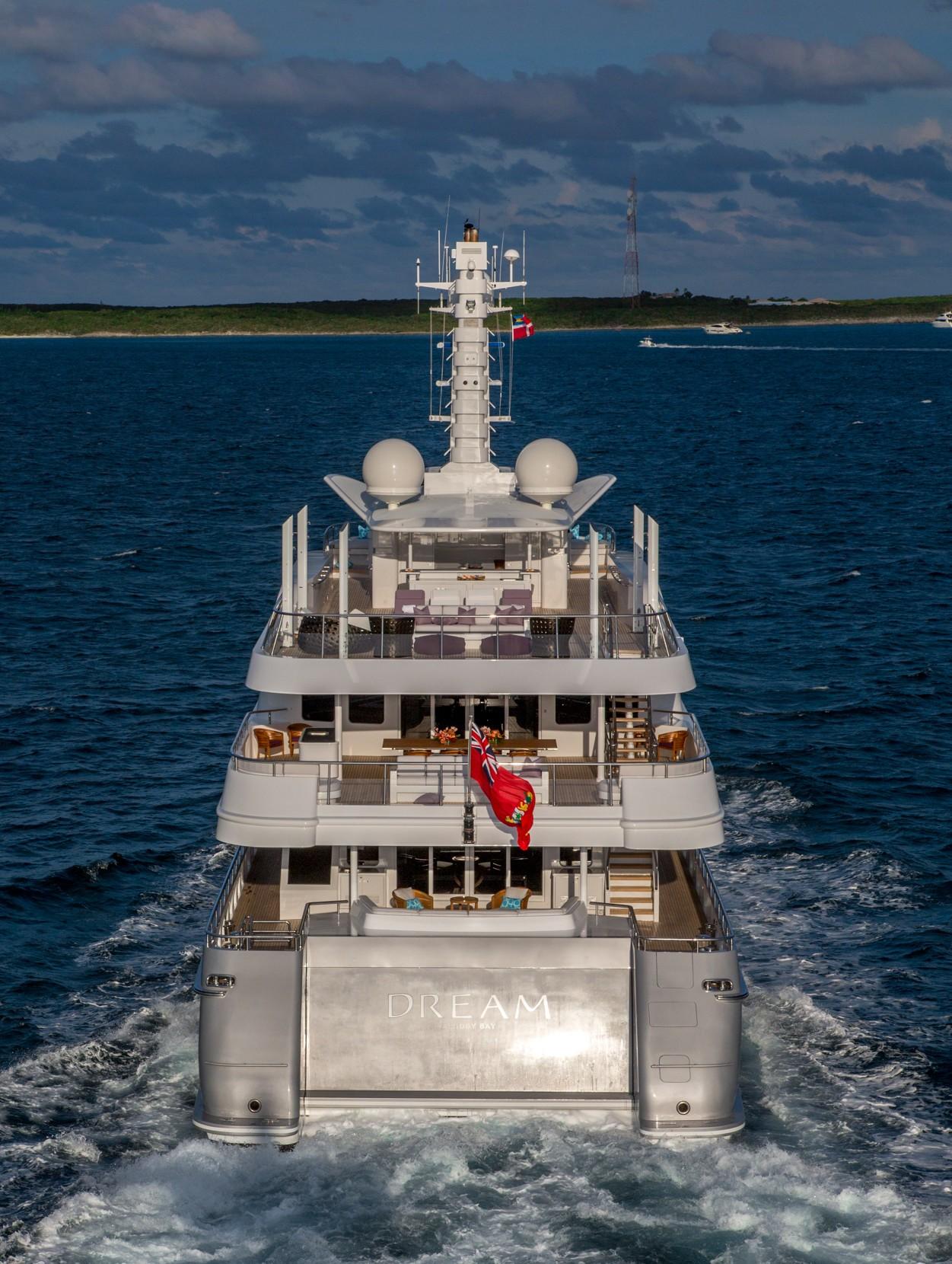 Aft Decks Underway - Yacht DREAM by Abeking & Rasmussen