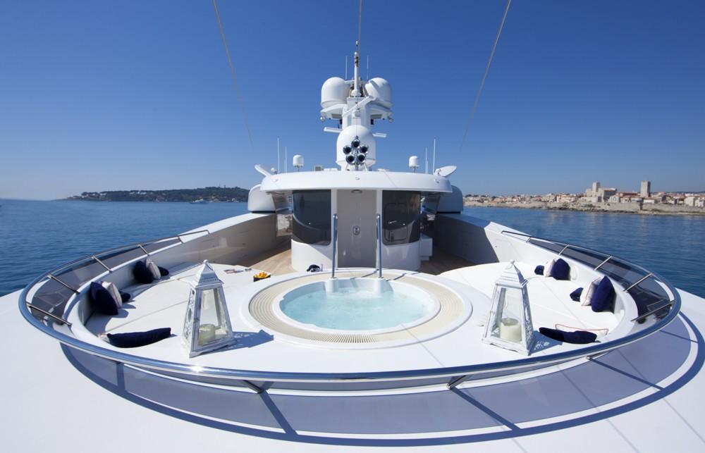 Jacuzzi Pool Aboard Yacht SARAH