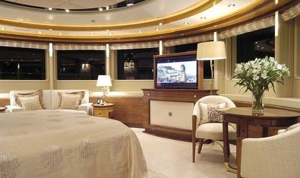 Screening: Yacht SEA WALK's Main Master Cabin Image