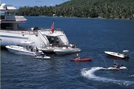 Beach Beachclub Aboard Yacht NOMAD