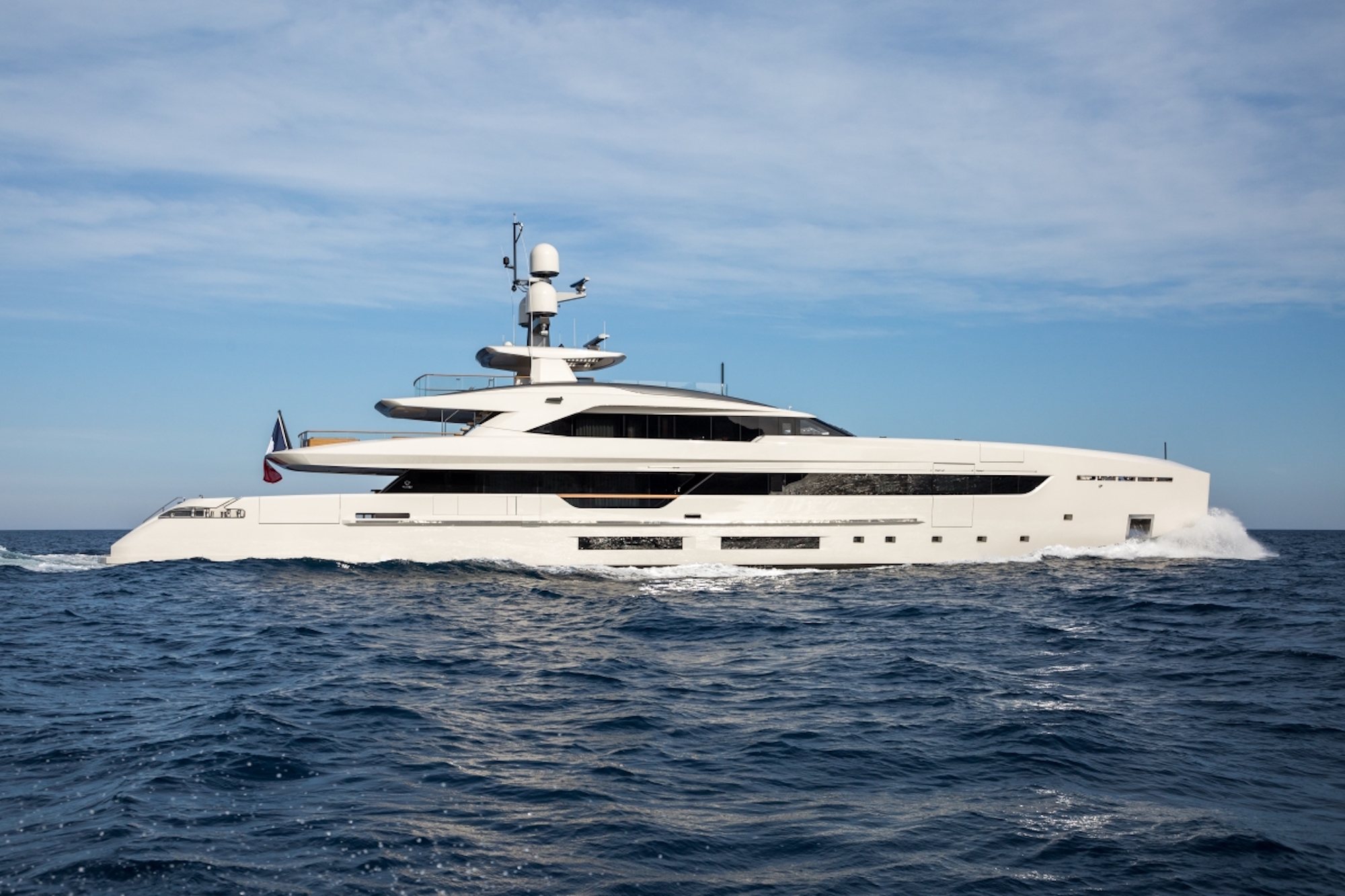 Luxury Charter Yacht VERTIGE From Tankoa Yachts - Currently On Display At The Monaco Yacht Show