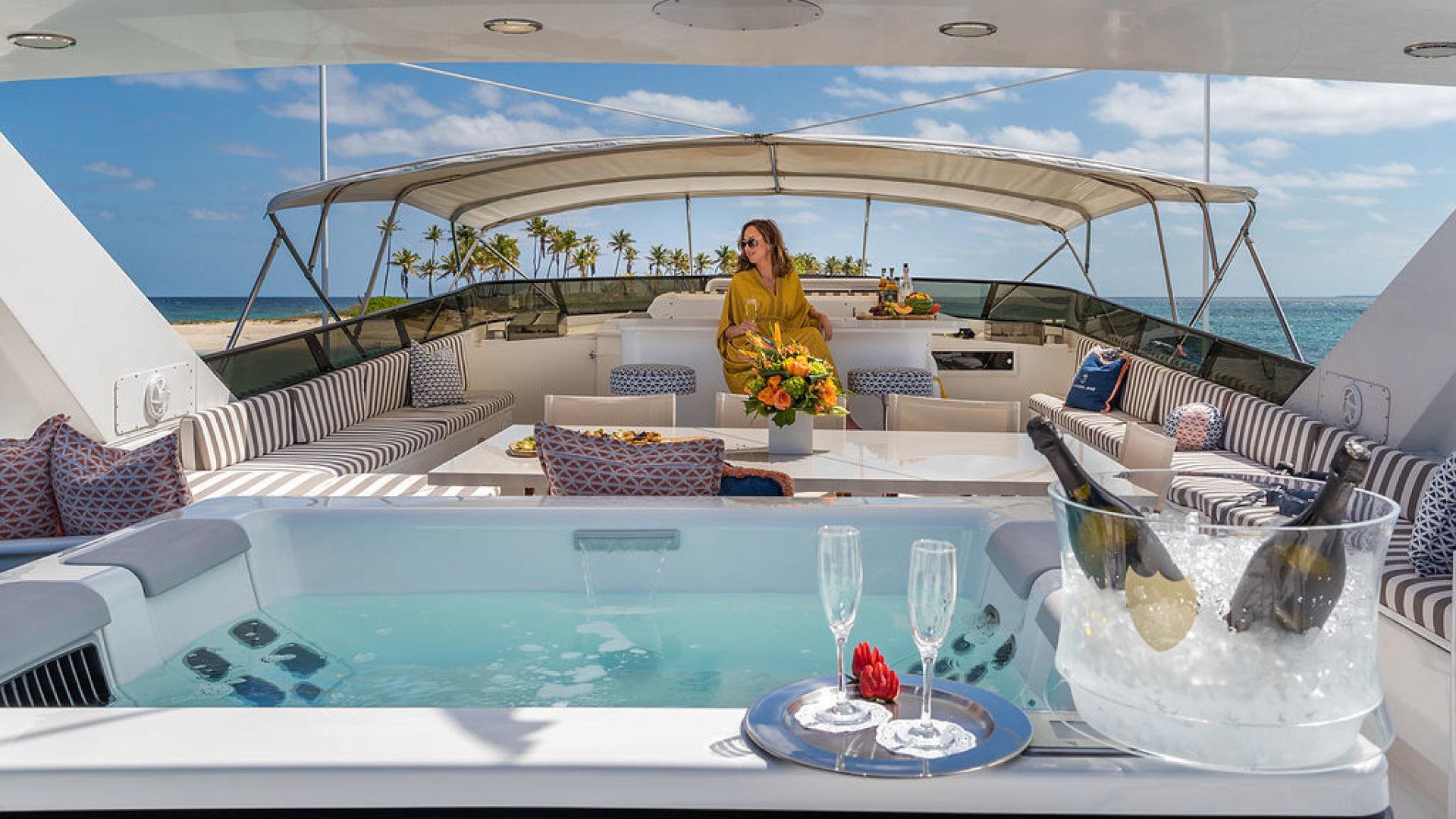 ALEXANDRA JANE Exterior - Flybridge Lifestyle