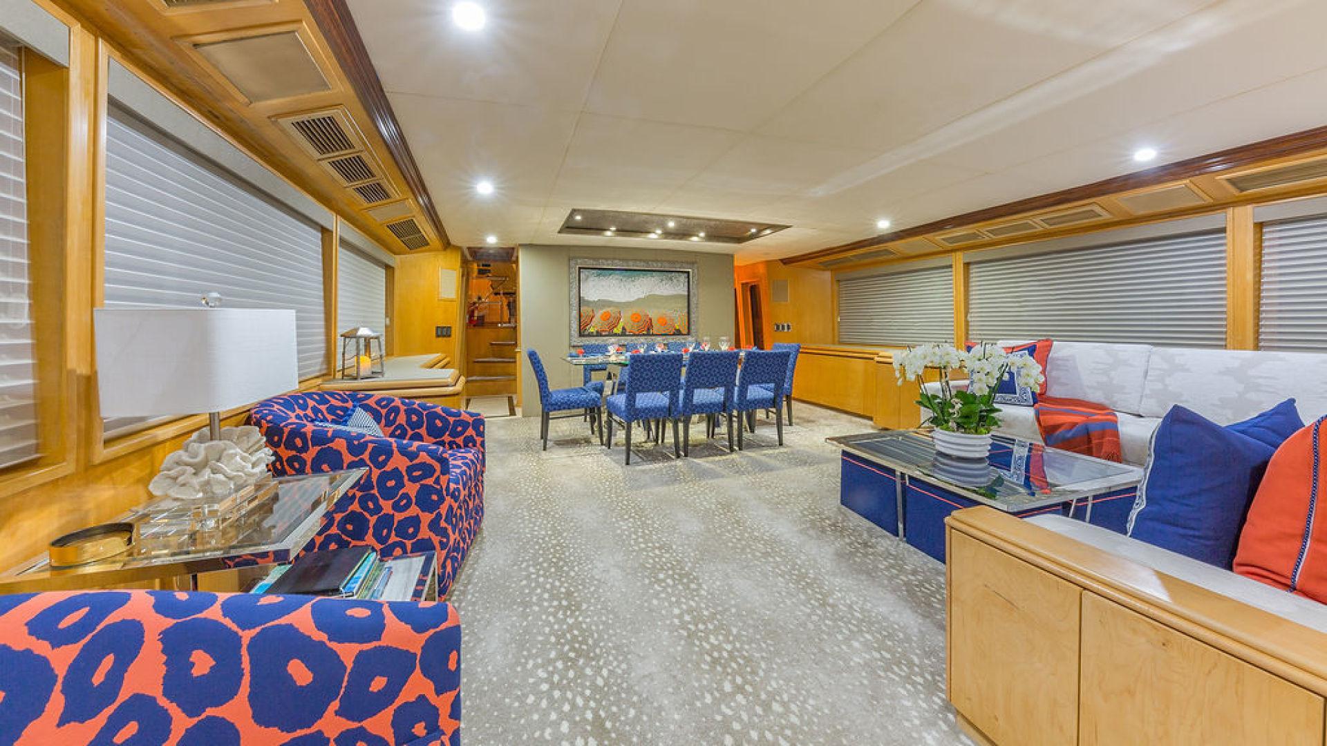 ALEXANDRA JANE Interior - Main Salon Forward