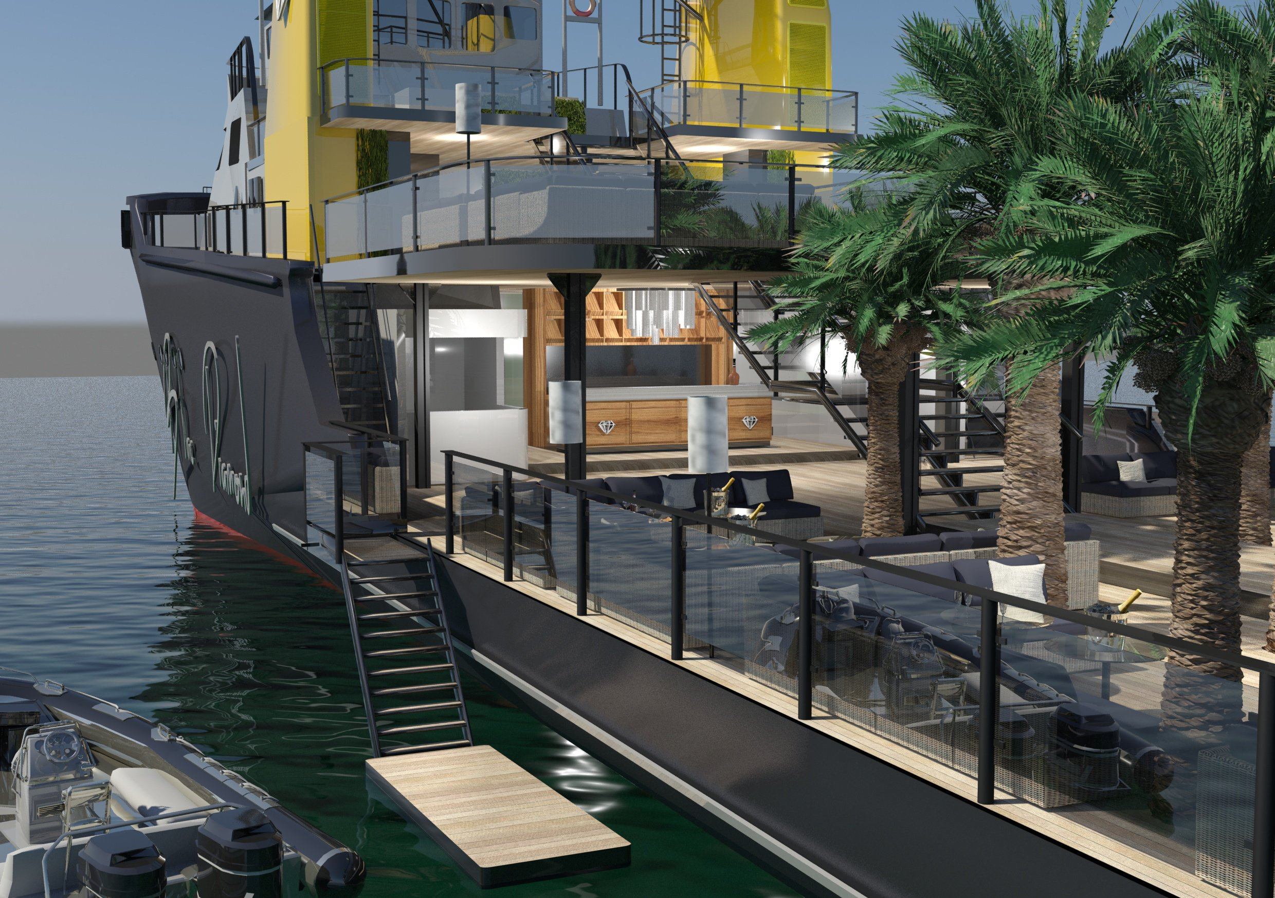 BLACK DIAMOND Party And Event Yacht