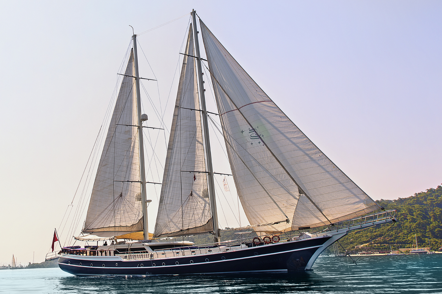 Gulet PERLA DEL MAR II - Sailing