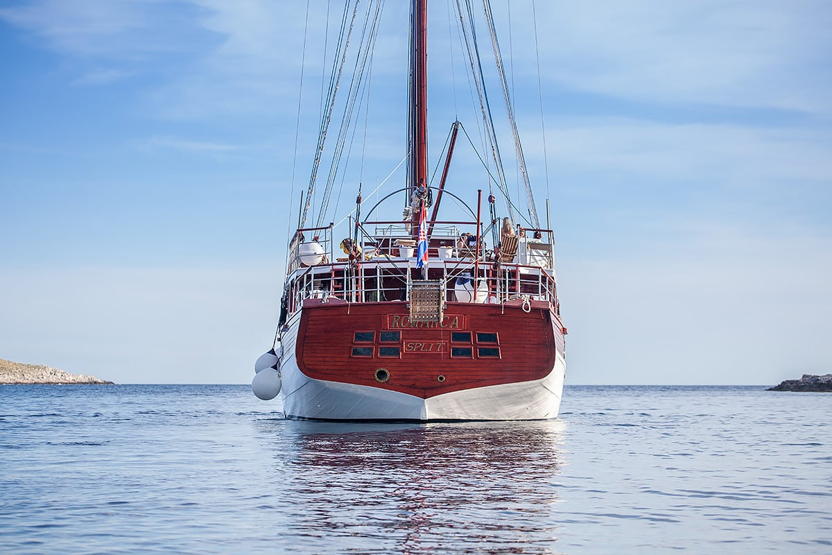 Gulet Sailing Yacht ROMANCA