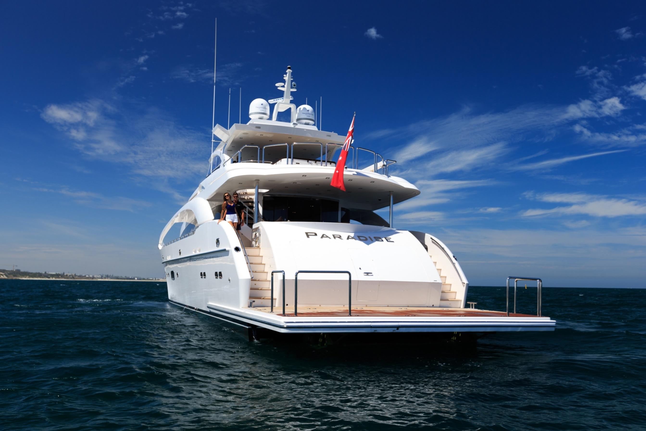 35m Motor Yacht PARADISE - Swim platform