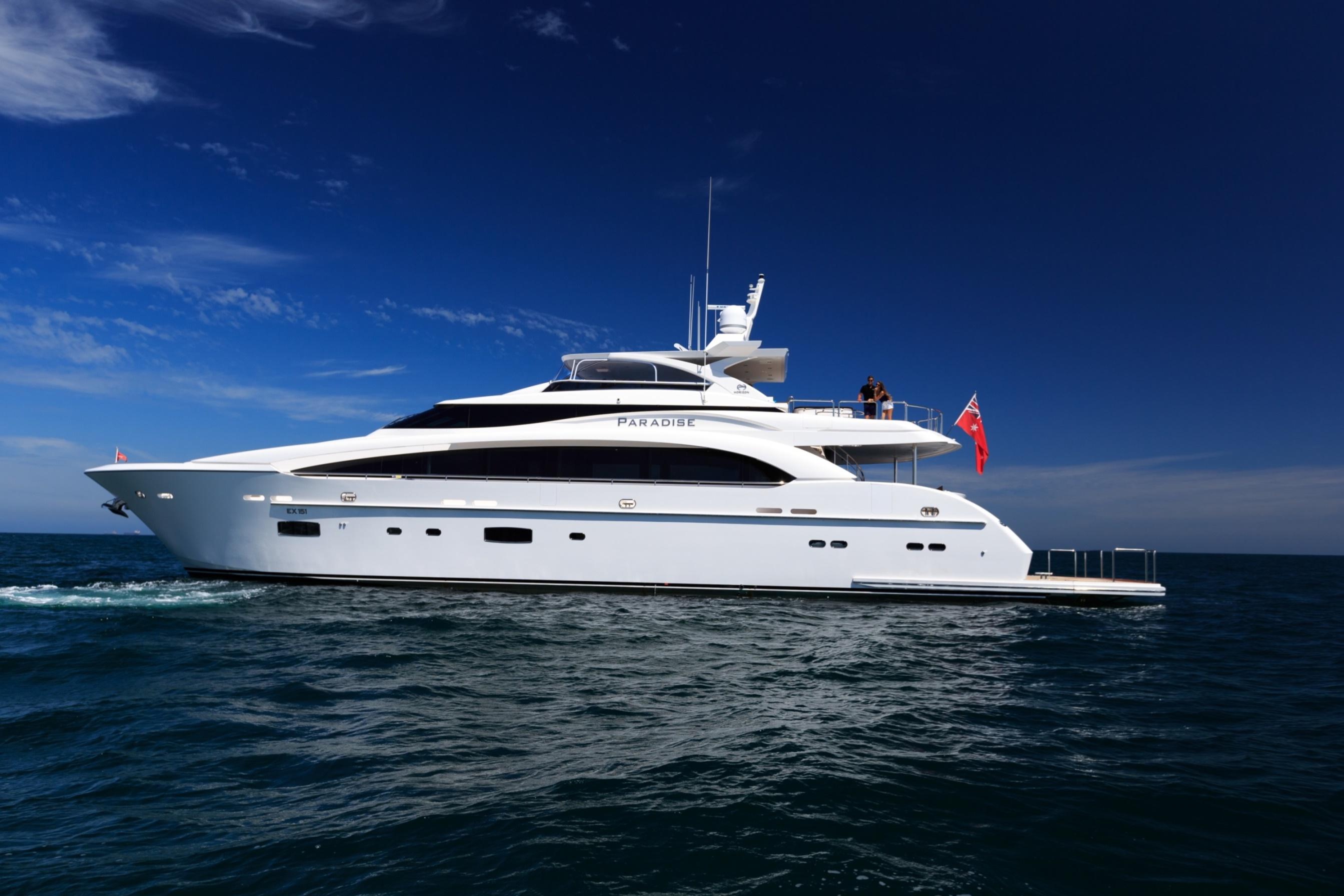 35m Motor Yacht PARADISE - Profile