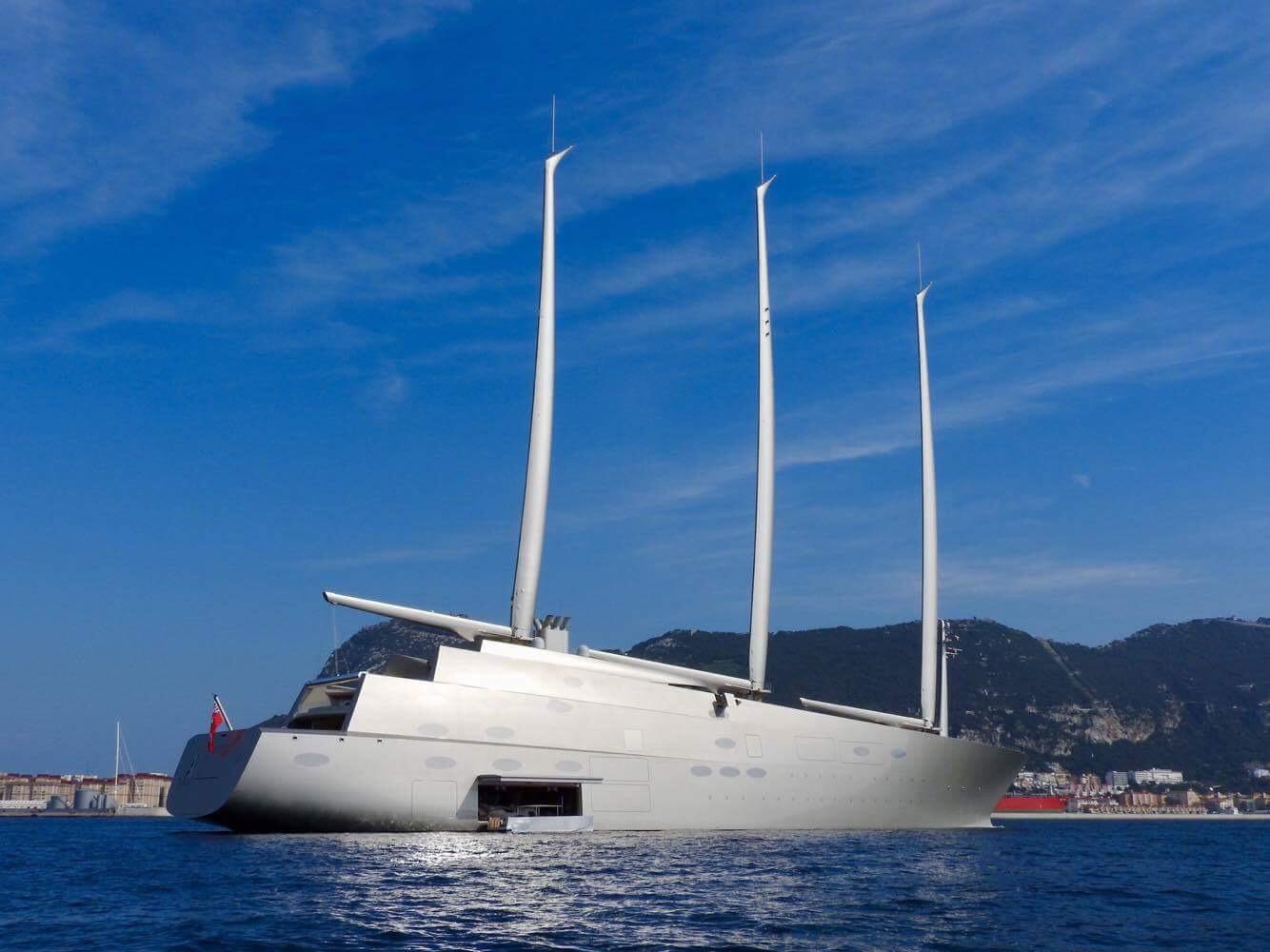 Yacht Sailing Yacht A Nobiskrug Charterworld Luxury Superyacht