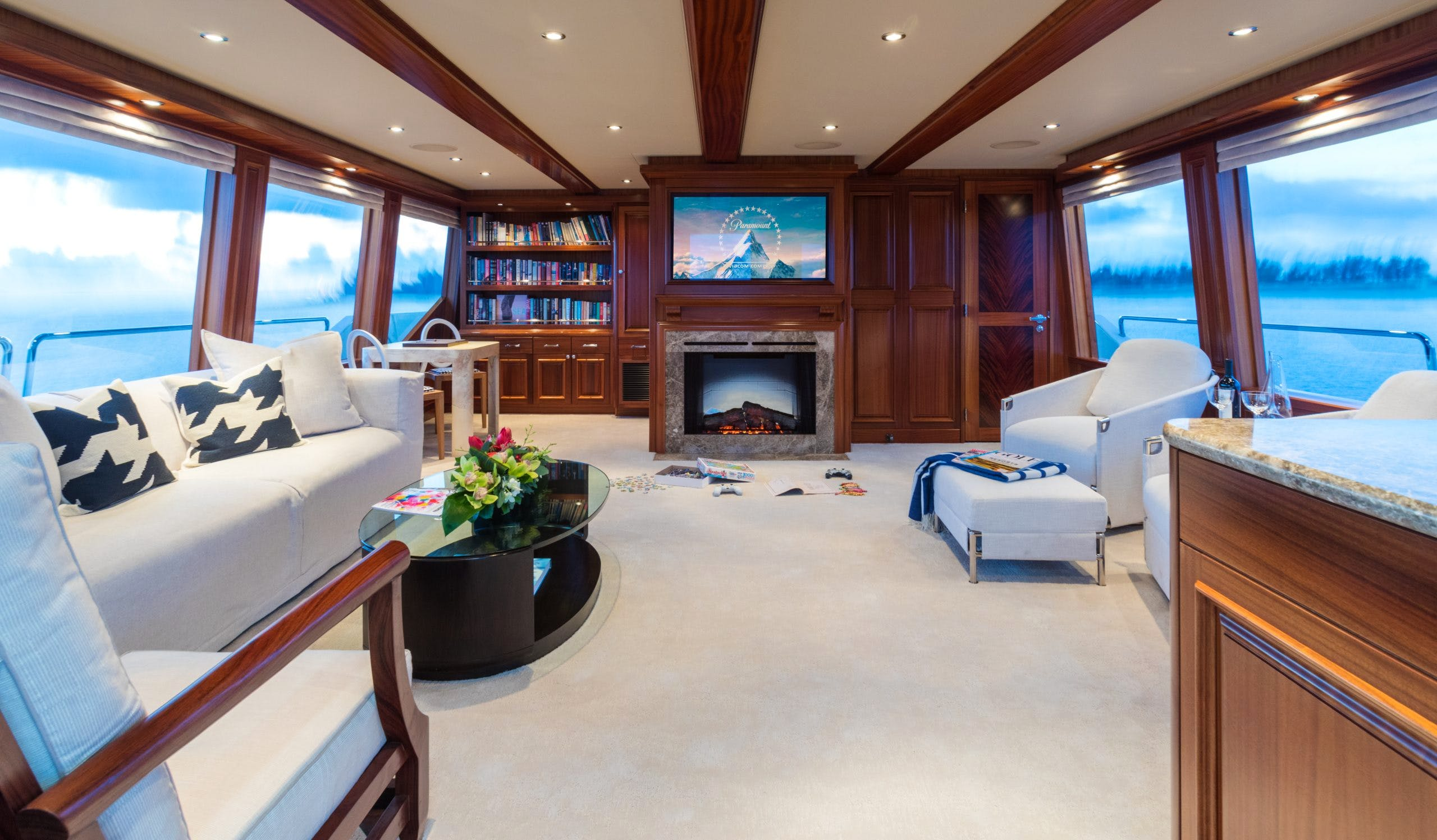 Sky Lounge With TV And Games