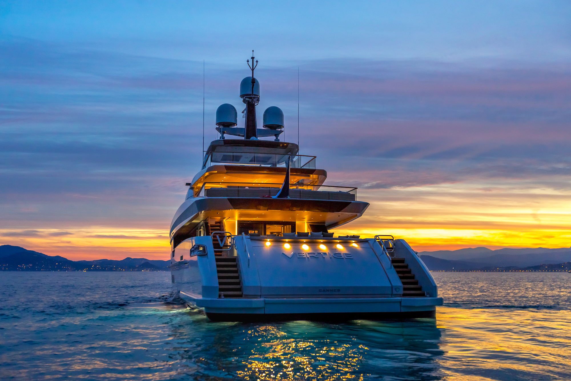 Sunset Image Gallery Luxury Yacht Browser By