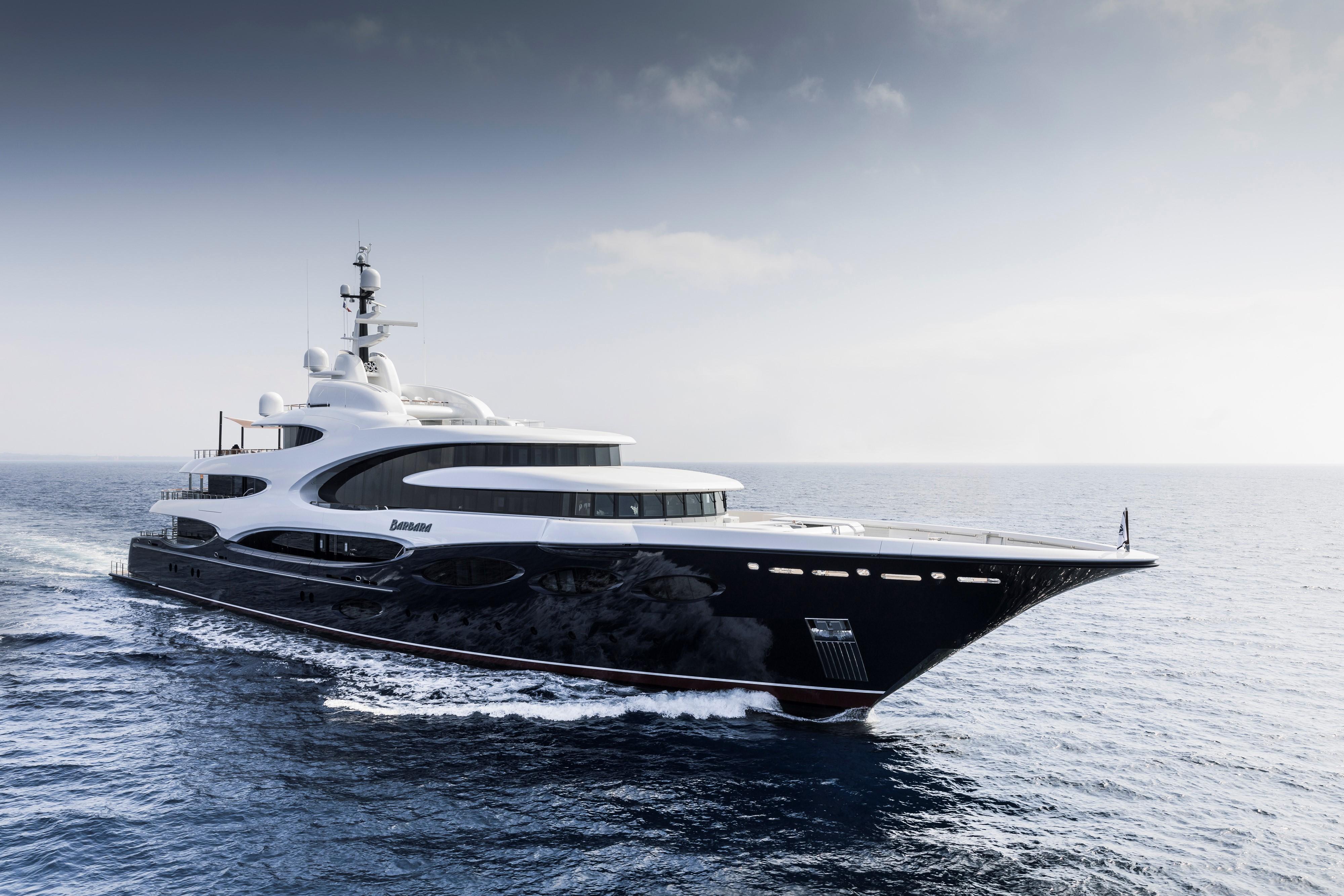 Yacht Barbara  An Oceanco Superyacht