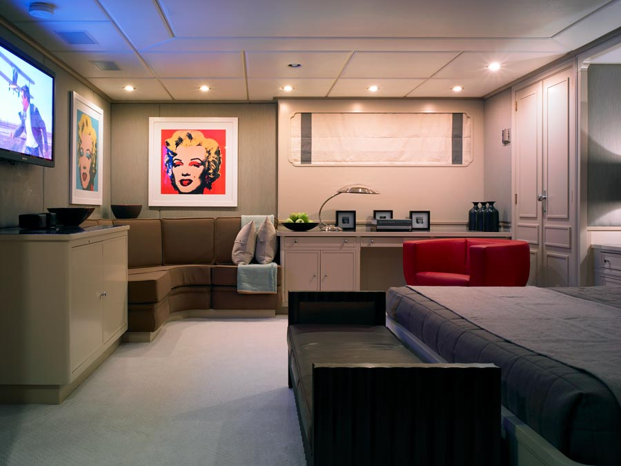 Yacht ILLUSSION By Feadship - Accommodation