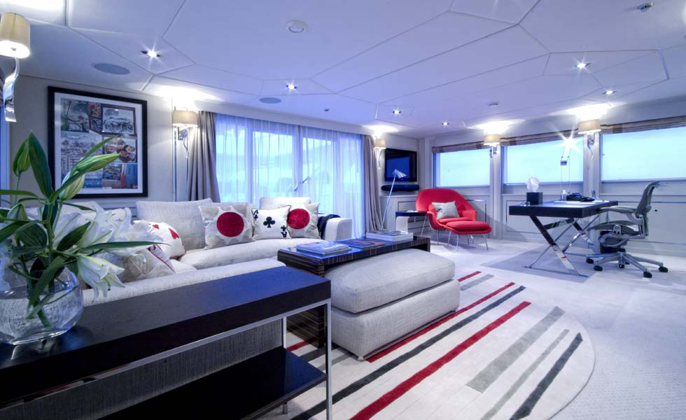 Yacht ILLUSSION By Feadship - Interior