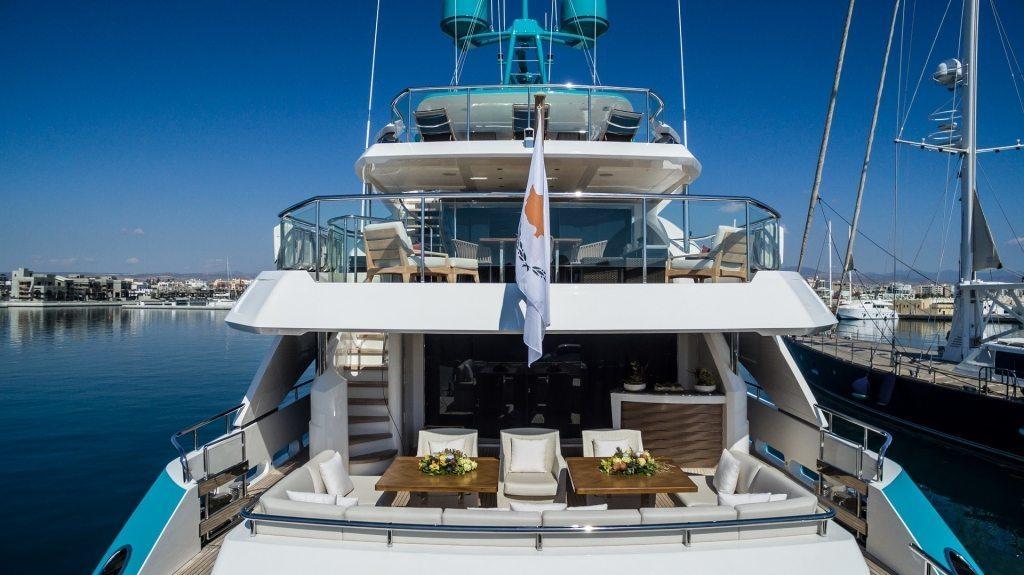 Aft Deck View Photo Princess Yachts