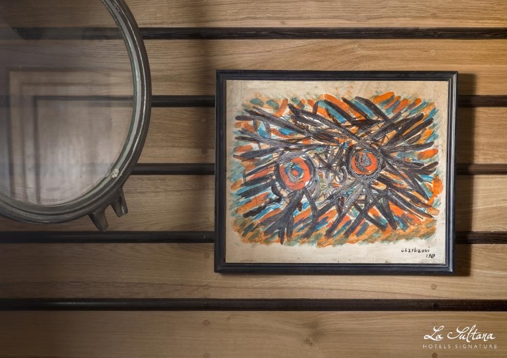 Artwork On Board La Sultana