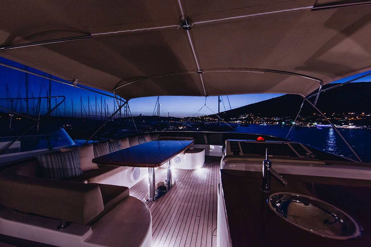 Flybridge By Night