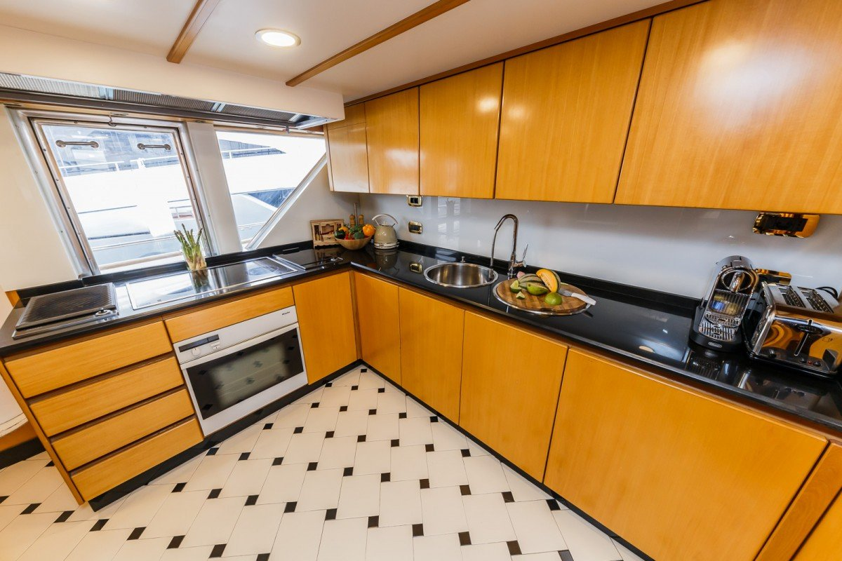 Galley Top View
