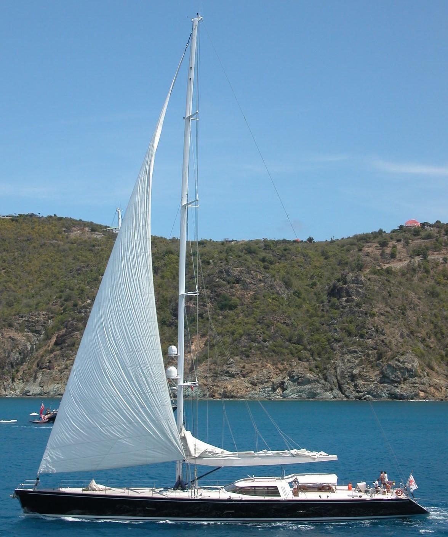 VAIMITI sailing the Mediterranean