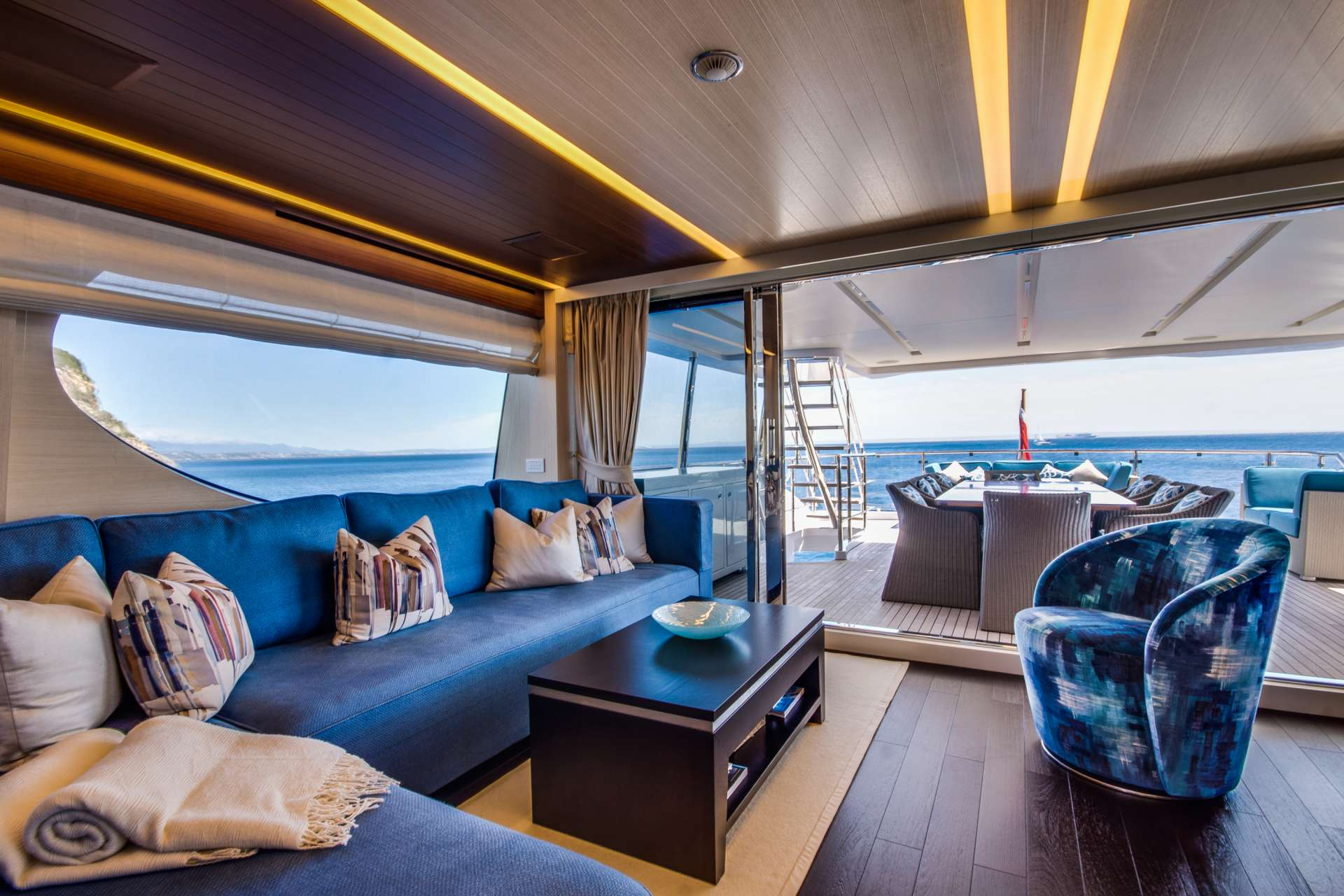 Skylounge With Aft Deck