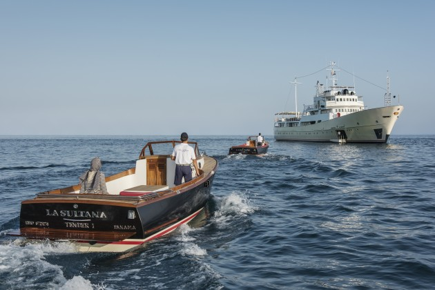 Sultana Yacht With Two Tenders