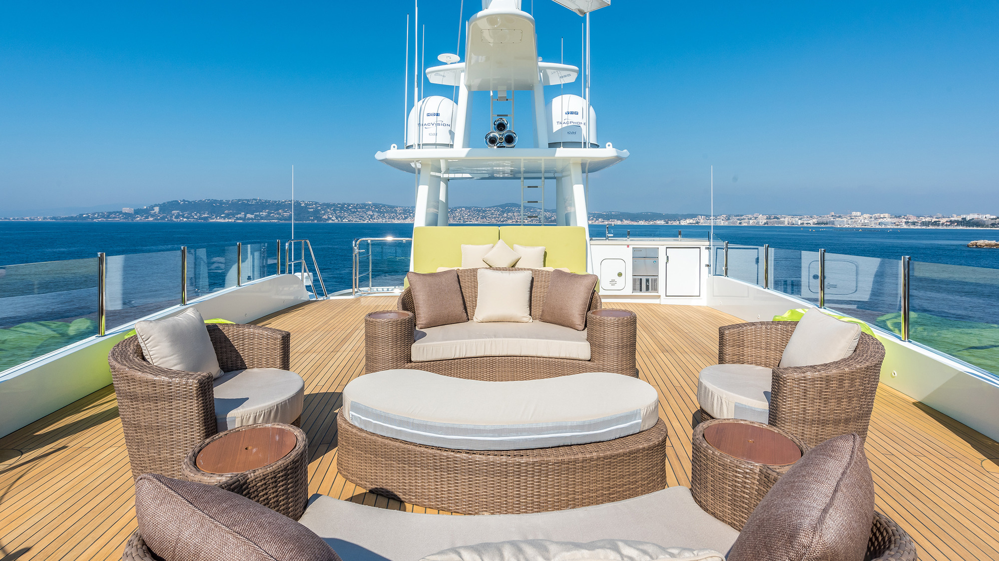 Top Deck Lounging And Seating