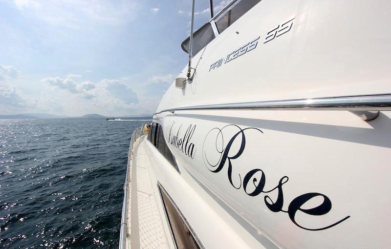 ISABELLA ROSE -  Side Deck