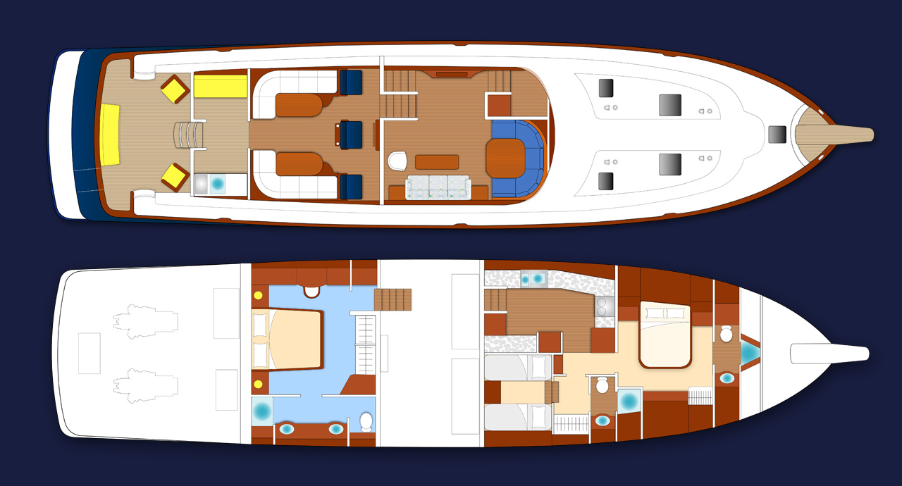 LYMAN MORSE Yacht EXCELLENCE -  Layout