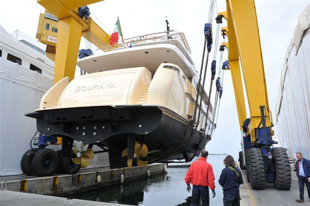 38m luxury yacht SOURAYA by Sanlorenzo